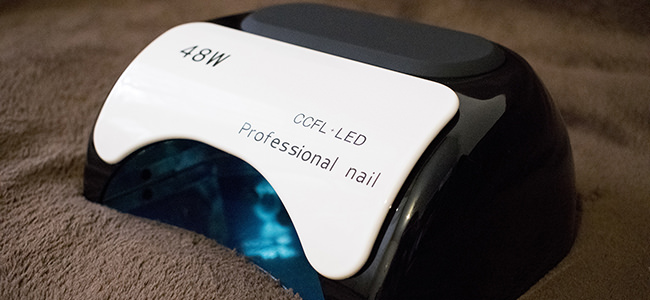 CCFL LED UV 48w: обзор и отзыв о лампе для маникюра из Китая (AliExpress)