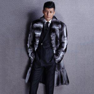 Мужское пальто из натурального меха - 31 600 $