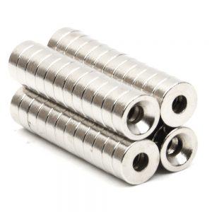 Неодимовые магниты в форме диска 7.9х2.6 мм