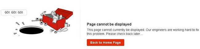 Page cannot be displayed: что означает ошибка на Алиэкспресс